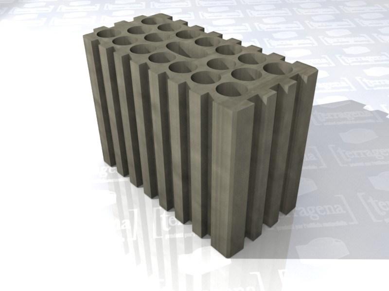 blocco argilla, LaterActive light, blocco forato leggero