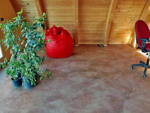 Leviter, pavimento in argilla