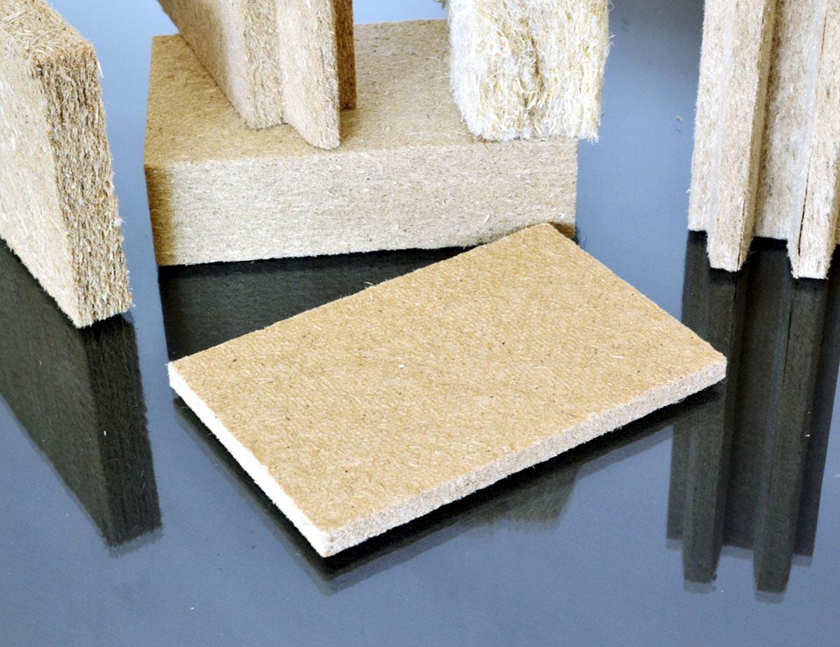 Pannelli in fibra di legno di varie tipologie