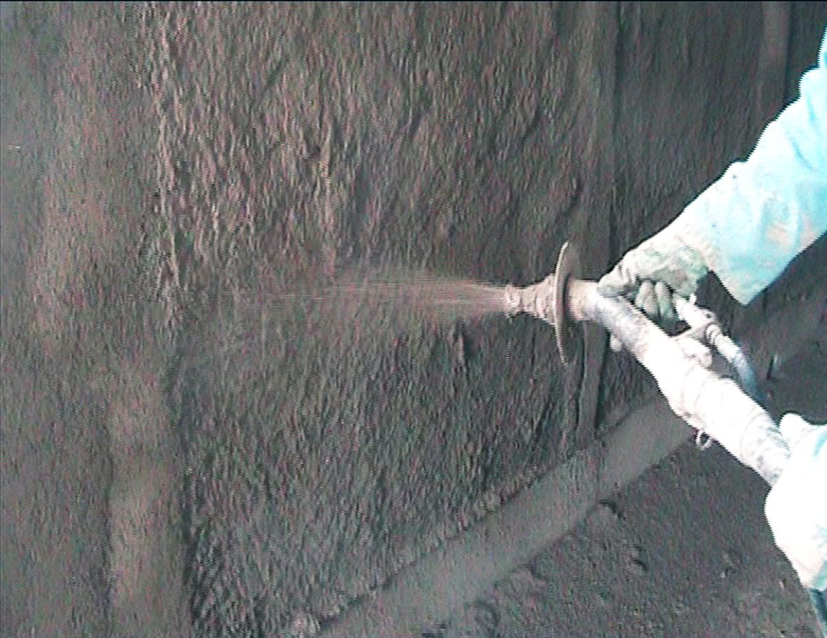 SB2, intonaco di fondo in argilla
