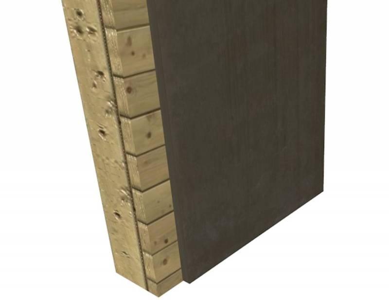 Applicazione su pareti in legno